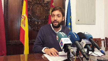 Lorca implementa una bonificación del 20% del IBI durante 4 años a nuevos emprendedores, mantiene los descuentos a afectados por los seísmos e incorpora nuevas ayudas para las Pedanías Altas