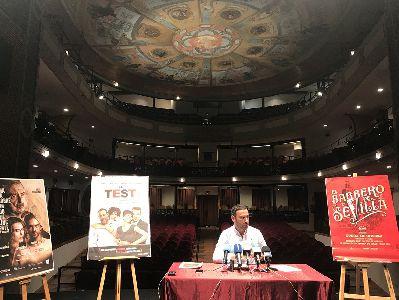 Rosana, Luis Merlo, Carlos Núñez y El Sevilla pasarán por las tablas del Teatro Guerra durante los próximos meses