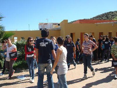 El albergue de Puntas de Calnegre fue escenario el pasado fin de semana del encuentro de formación de corresponsales juveniles de la Región de Murcia
