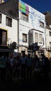 El éxito de la iniciativa ''Lorca Art Proyect'' amplía  el proyecto a fachadas y vallados en Lorca Plaza, Plaza de San Vicente y casco histórico