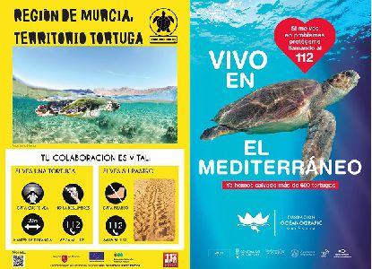 Lorca colabora en varias campañas de sensibilización sobre la tortuga marina coincidiendo con la época de nidificación