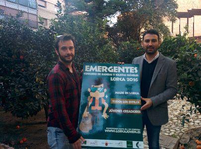 El Consejo de la Juventud de Lorca y el Ayuntamiento convocan el IV Concurso Emergentes para creadores y músicos lorquinos