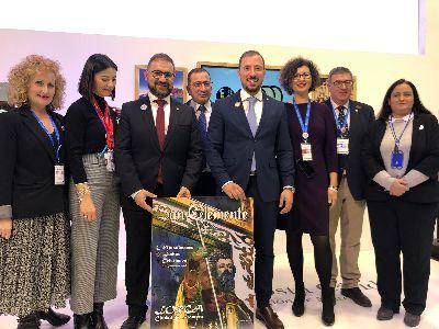 El Ayuntamiento de Lorca presenta en FITUR el cartel anunciador de las Fiestas de San Clemente 2020