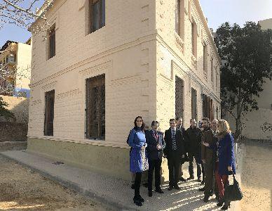 Ayuntamiento y Consejería de Fomento rehabilitan la Casa del Capitán, que implementa las infraestructuras docentes y de investigación del Campus Universitario