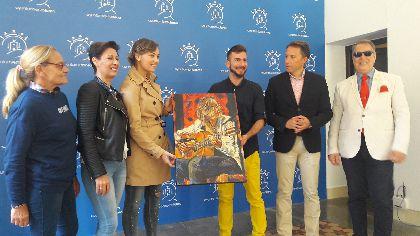 El Alcalde de Lorca felicita a la guitarrista Mercedes Luján por llevar el nombre de la ciudad hasta el prestigioso certamen ''Uppsala XV International Guitar Festival''