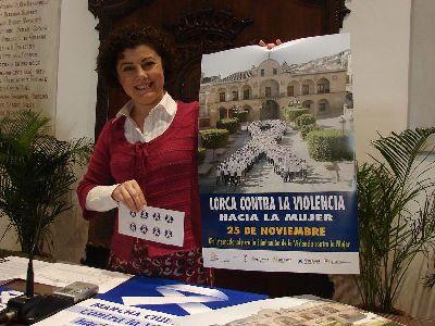 El Ayuntamiento de Lorca organiza una marcha ciudadana y actividades con escolares por el Día para la Eliminación de la Violencia contra la Mujer