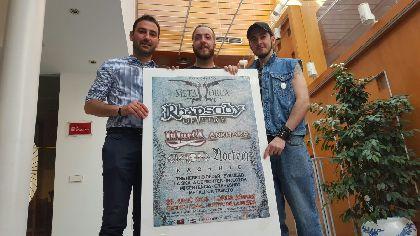 Trece bandas, entre las que destaca Rhapsody of Fire, actuarán el 25 de junio en el Huerto de la Rueda durante el Metal Lorca
