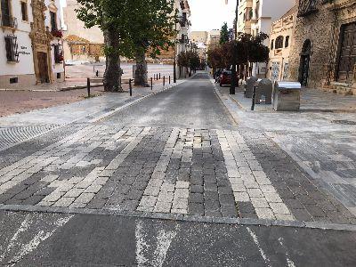 El Ayuntamiento acometerá mejoras en los pasos de peatones de calles como Santo Domingo, Lope Gisbert y Príncipe Alfonso