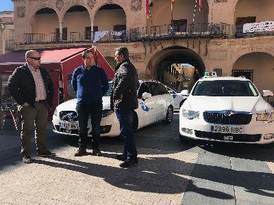Lorca se dota de su primera Ordenanza Reguladora del Servicio de Taxi para mejorar la relación entre el profesional y el usuario del servicio