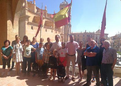 Cuatro niños saharauis disfrutan ya del verano en Lorca gracias al programa de acogida temporal ''Vacaciones en Paz''