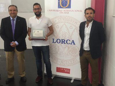 Lorca recibe una distinción como Sede Honorífica de la Universidad Internacional del Mar, con la que viene colaborando durante los últimos 22 años