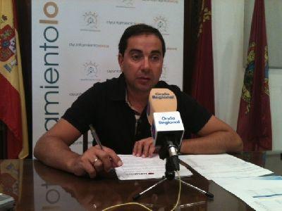 Las diez webs municipales de Lorca más vistas suman en el primer semestre del año unos 50.000 visitantes únicos más que en 2012