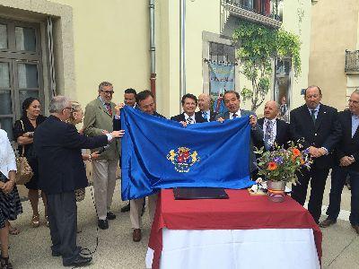 El Alcalde rubrica el hermanamiento oficial entre Lorca y la localidad francesa de Adissan