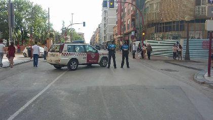 La Policía Local establecerá el 22 y 23 de abril normas especiales de circulación en Jerónimo Santa Fe y Avenida de Portugal por la demolición del edificio ubicado en el nº 30