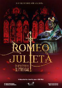 El Teatro Guerra acogerá el viernes, 29 y el sábado, 30 de octubre el musical ''Romeo y Julieta, un amor inmortal''