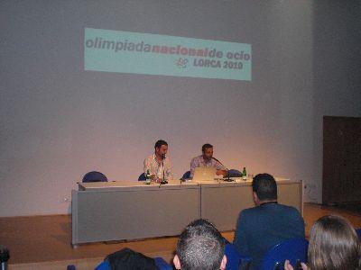 El Ayuntamiento de Lorca presenta la Olimpiada  Nacional de Ocio en el Encuentro Internacional de Cabueñes de 2.009