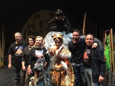 El Teatro Guerra acoge esta semana 7 representaciones del musical sobre el Libro de la Selva ''La Aventura de Mowgli'' para 3.000 personas
