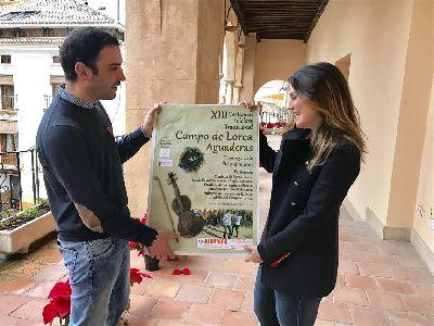 La ermita de Aguaderas acoge este domingo el XIII Certamen de Folclore Tradicional ''Campo de Lorca'' en el que participan grupos de Albacete, Almería, Murcia y Lorca