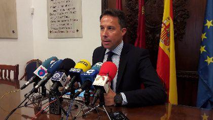 El Alcalde dota de una nueva estructura organizativa a la Administración Local para potenciar la consecución de la Nueva Lorca y modernizar el trabajo de las concejalías
