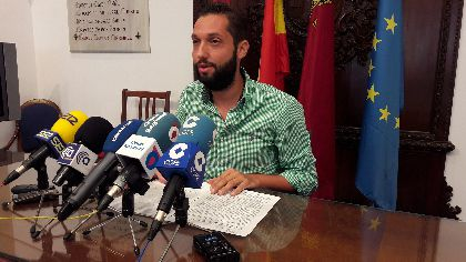 Lorca consigue reducir su deuda municipal en 1,6 millones de euros durante el primer semestre del año