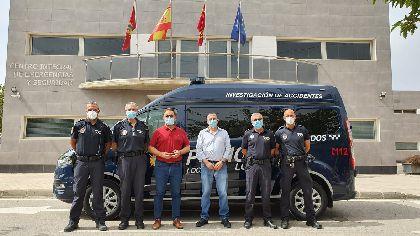 La Policía Local de Lorca incorpora un nuevo furgón al servicio de Atestados sustituyendo un vehículo con 23 años