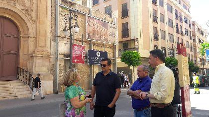 El Ayuntamiento otorga licencia para la rehabilitación integral del Claustro de la Iglesia del Carmen, que permitirá ubicar el Museo del Vía Crucis y abrir una plaza pública
