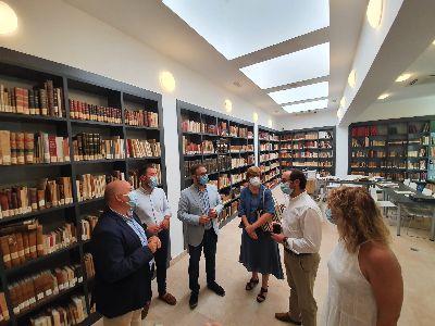 El Ayuntamiento recupera el uso del Centro Cultural 'Fondo Espín' como nuevo espacio para revitalizar el casco histórico