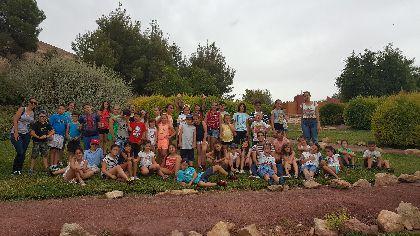 La Fortaleza del Sol recibe a más de 300 niños de las Escuelas de Verano de Murcia durante el mes de julio