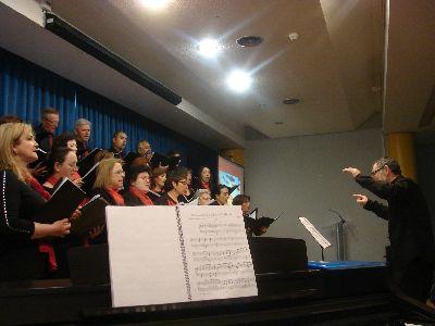 Más de 400 alumnos asisten en el Centro Cultural al recital poético-musical en homenaje a Machado, García Lorca y Hernández