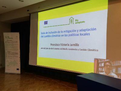 Diferentes servicios municipales participan en un taller sobre 'Adaptación de las Políticas Locales al Cambio Climático'