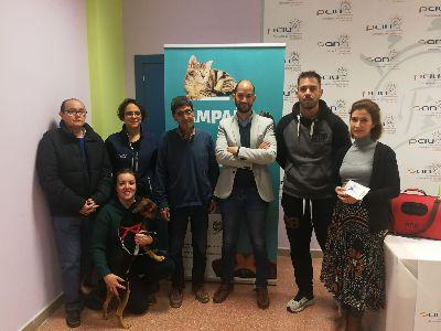 La concejalía de Sanidad acerca a las pedanías de Lorca la campaña de chipado gratuito para facilitar la identificación de animales de compañía