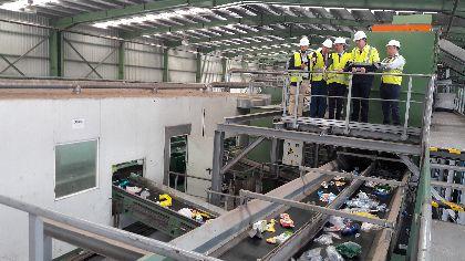 Lorca se refuerza como referencia nacional en reciclaje y recuperación de materiales gracias a una nueva inversión de 6 millones de euros en el Centro de Gestión de Barranco Hondo
