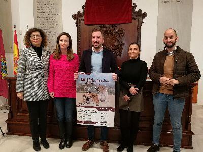 La VII Ruta Canina solidaria hasta el Castillo de Lorca se celebra este domingo, 19 de enero, con motivo de la festividad de San Antón