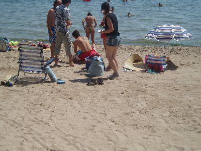 ?Acción Joven 1.1?, comenzó el pasado fin de semana sus actividades con la promoción turística de la ciudad de Lorca por las costas de Alicante y Murcia