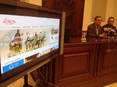 El Ayuntamiento de Lorca adapta su web lorcaturismo.es a la nueva imagen y estrategia promocional ''Lorca, Lo bordamos''