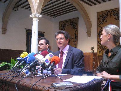 El Alcalde de Lorca anuncia que el Ayuntamiento ha iniciado los trámites para la restauración del Palacio de Guevara