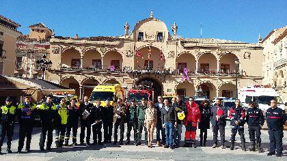 La Dirección General de Emergencias incorpora un helicóptero y el Puesto Móvil de Mando Avanzado al operativo especial para los actos de la Semana Santa de Lorca