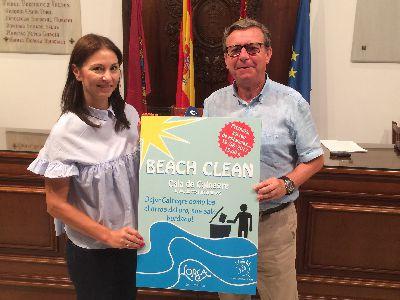 La Cala de Calnegre acogerá el próximo sábado 19 de agosto la iniciativa medioambiental Beach Clean que forma parte de la concesión de la bandera azul