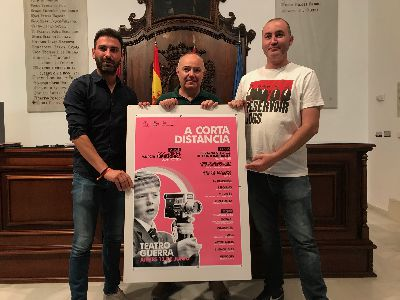 El Teatro Guerra acogerá el jueves la octava edición del certamen de cortometrajes ''A corta distancia'' en la que participarán más de una decena de autores lorquinos