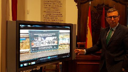 Lorca redobla la promoción del bordado y de sus desfiles bíblicos-pasionales de Semana Santa como principal foco de atracción turística en la feria de turismo de Madrid