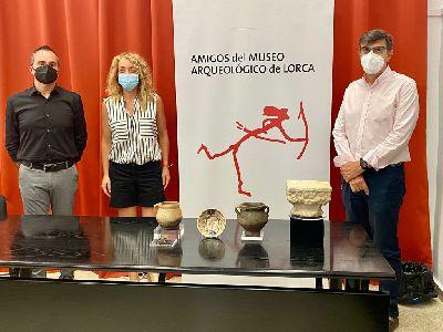 El Museo Arqueológico cuenta con cinco nuevas piezas restauradas procedentes de las excavaciones de la judería de Lorca