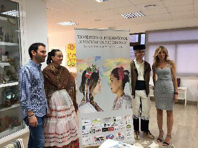 El Festival Internacional de Folclore Ciudad de Lorca celebra su XXVIII edición con la presencia de grupos de India, Marruecos, Bolivia, Burgos, Vélez Rubio y Macedonia