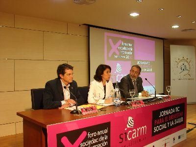 Lorca se convierte en el punto de encuentro de las tecnologías y del bienestar social con la celebración de la tercera edición de las jornadas TIC