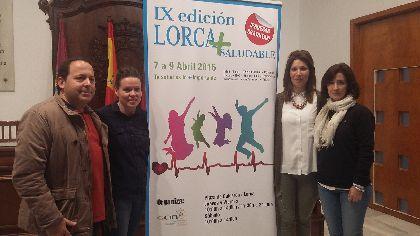 La IX Feria Lorca Saludable centra sus actividades en alimentación sana, actividad física y adquisición de hábitos saludables para combatir la obesidad