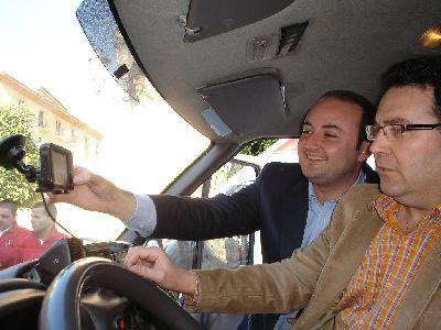 Nuevas Tecnologías hace entrega de dos GPS de última gama a las ambulancias de Cruz Roja de Lorca