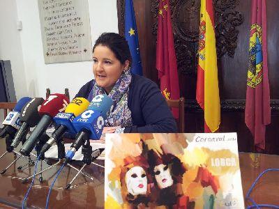 800 personas participarán el sábado 1 de marzo en el Gran Desfile de Carnaval de Lorca, que partirá a las 18:00 horas del barrio de San José hasta el Huerto Ruano