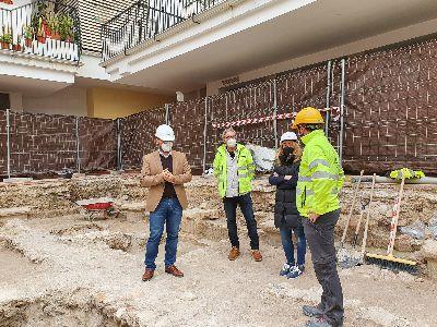 El Ayuntamiento de Lorca inicia la excavación del Claustro de Santo Domingo para su puesta en valor