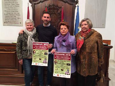 La Asociación de Amas de Casa conmemora el Carnaval el jueves 28 de febrero con una gala musical amenizada por Javier y Selín en el Hotel Jardines de Lorca