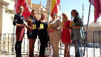 Los bailes llenan las calles de Lorca para conmemorar el Día Internacional de la Danza