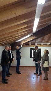 Las obras en el Palacio de Villaescusa dotan al edificio de mayor solidez, reducen su peso en 300 toneladas y lo hacen más seguro ante posibles terremotos